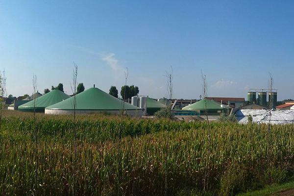 Bioplinske elektrarne / Biogaskraftwerke