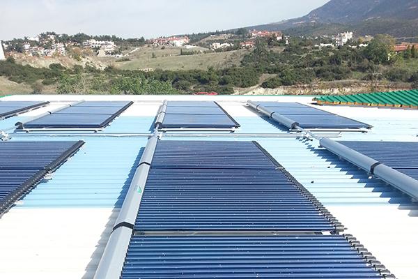 Sončna energija za ogrevanje / Solarenergie zum Heizen